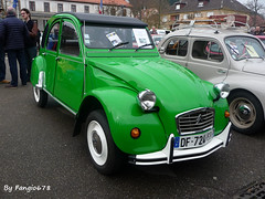 Citroën 2CV (fangio678) Tags: expo chatenois 02 04 2017 voiture voituresanciennes ancienne collection cars classic coche oldtimer youngtimer citroën 2cv french francaise