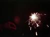 7/30 Handheld Fireworks (G.Sander) Tags: 4thofjuly sparkler dark night 35mm expired film kodakgold400 minoltasrt201 mcrokkorxpg50mmf14