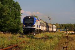 SU160-007 (Krzysztof D.) Tags: pociąg train zug kolej bahn railway polska poland polen lipa station stacja bahnhof semafor gama su160 pesa tlk pkp intercity