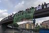 2014.10.27 #NiMutsNiGabia (Ciutat de la Justicía)_8 (Bru Aguiló) Tags: nimutsnialagàbia esplugues barcelona ciutatdelajustícia placaufec protesta especulación manifestación mossosdesquadra represión derechoshumanos