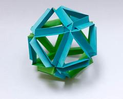 Skella Gamma Kusudama (Brian Ritchie) Tags: kusudama mariasinayskaya skellagamma modular origami