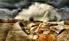 -Wave- (Roberto Rubiliani) Tags: acqua canon clouds cielo eos70d estate italia italy mare nuvole rubiliani robertorubiliani sea sky tuscany travel toscana marinadipisa summer water