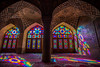 early morning at pink mosque, shiraz, iran (Tina Grdić) Tags: shiraz pink iran silk road pinkmosque nasirolmolkmosque islam religion colors beautiful light islamic sonyalpha7ii minolta1735f284 middleeast southiran dome coloredglass panjkāse design qajar مسجدنصیرالملک travel prayer calligraphy ايران islamicarchitecture carpets