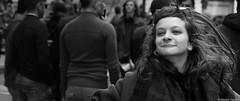 Satisfaction (BenoitGEETS-Photography) Tags: d610 nikon nikonpassion 2470 tamron pride bruxelles brussels bn bw noiretblanc nb smile sourire geets benoitgeets misterblue blackwhite