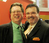 Bob Jonkman (GPC) and James Villeneuve (NDP) (WRGreens) Tags: bobjonkman kitcon kitchenerconestoga greenparty gpc elxn42 2015 jamesvilleneuve ndp