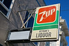 Vetran's Liquor, San Francisco, CA (Robby Virus) Tags: sanfrancisco california sf ca 7up vetrans liquor sign signage grocery market store shop closed corner soft drink