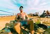 Chillin' at the Beach (VBuckley.com) Tags: bradfordbeach beach sand sun fun milwaukee laborday sky lakemichigan people crowd volleyball swimsuit bikini boardshorts sunglasses reflection friend wideangle canon rokinon 14mm summer beachvolleyball sandvolleyball