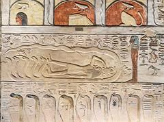 KV17, The Tomb of Seti I, Side chamber Jb (kairoinfo4u) Tags: egypt luxorwestbank valleyofthekings eastvalley thebeswestbank thebes tombofsetyi kv17 setyi égypte egitto egipto ägypten sethosi unescoworldheritagesites setii ancientthebes ancientegyptianart luxor aluqsur amduat muralpaintings tombofsetii