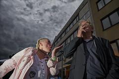 Blown Kiss (Monty May (OBSERVE)) Tags: iserlohn nrw germany street streetphotography humour