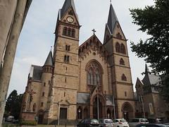 Heppenheim  ( Katholische Pfarrkirche  St. Peter ) (fotofaninge) Tags: heppenheim kirche st peter