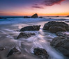 Woods Cove Laguna Beach (meeyak) Tags: woodscove laguna beach lagunabeach oc orangecounty westcoast southerncalifornia california usa seascape landscape sea ocean water motion rocks meeyak sony a7r2 1635mm longexposure sunset summer warm hot adventure travel vacation outdoors