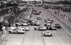 "Start of the 1968 Sebring 12 Hour GP (Nigel Smuckatelli) Tags: sebring 12hoursofsebring racing cars motorsports automobile auto heures race ""nigel smuckatelli"" ""louis galanos"" classiccar sportauto oldtimersport speed ""gp legends"" ""historic motorsports"" wsc histochallenge autorevue passion vehicle ""world sportscar championship"" ""manufacturer's manufacturer's classic prototype autoracing legends endurance vintage fia 1968 1968sebring12hours"