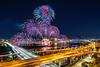 Souds from the river 2017 (Jennifer 真泥佛) Tags: 2017大稻埕河岸音樂季煙火節 大稻埕煙火節 firework 一曝 fireworks taipei taiwan river tamsuiriver