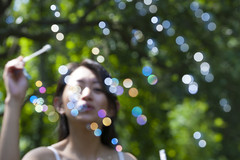 Bubble Bokeh (Chris-Creations) Tags: mei 20050528006 bubbles vividstriking blowing woman blurred concept amateur asian attractive beautiful beauty chinese cute esposa feminine femme fille girl glamour gorgeous lady lovely mujer niña people petite portrait pretty sweet wife женщина 女孩 女人 性感 妻子