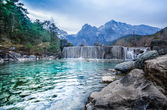 Blue Moon Valley Lijiang (w.suppavas) Tags: art asia beautiful beauty blue china chinese clouds green lake landmark landscape life lijiang moon mountain nature people photo postcard scene scenery scenic sky sport travel tropical valley view wallpaper water yunan
