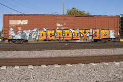 D30 (Psychedelic Wardad) Tags: freight graffiti dirty30 d30