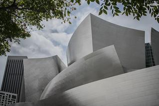 Los Angeles, Walt Disney Concert  hall- Frank Ghery