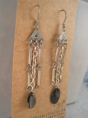 earrings summer 17BkPrt_83 (becktesch) Tags: bike bicycle jewerly earring earrings cycle cycling becky tesch becktesch chain link recycle reclaim repurpose reuse upcycle trash garbage trashion fashion rubber tube bead road women lady chic girl tough industrial stay chainstay mountain mountainbike adventure trail trailtime rad innertube chainstayjewelry chainstayjewelrydesign dangle earlobe