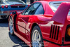 Red-Ferrari-F40-sports-car-in-sydney-by-la-lente-photography-behind-another-car (Paul D'Ambra - Australia) Tags: car red ferrari sportscar redsportscar redferrari vehicle motorvehicle redf40