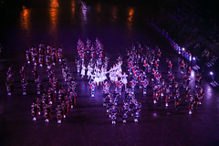 Tattoo 2nd Visit-229 (Philip Gillespie) Tags: 2017 edinburgh international military tattoo splash tartan scotland city castle canon 5dsr crowds people boys girls men women dancing music display pipes bagpipes drums fireworks costumes color colour flags crowd lighting esplanade mass smoke steam ramparts young old cityscape night sky clouds yellow blue oarange purple red green lights guns helicopter band orchestra singers rain umbrella shadows army navy raf airmen sailors soldiers india france australia battle reflections japan fire flames celtic clans