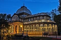 Palacio de Cristal II. Madrid. Spain (PAJOTAPHOTO) Tags: camara canoneos70d lugares madrid centro elretiro tipofotografia nocturna paisaje urbano