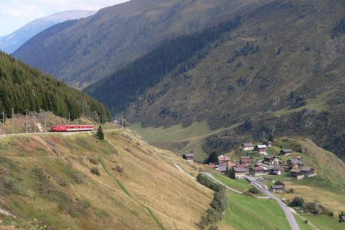 Oberalp Pass - MGB Tschamut/Selva