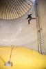 Go Ahead, Jump! (Rudy Malmquist) Tags: corn farmer maize jump jumping agriculture fun crazy insane man male marine catfootwear