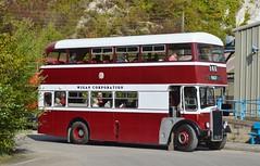 140 DEK3D (PD3.) Tags: 140 dek3d dek 3d leyland titan pd2 massey wigan corporation amberley west sussex chalk pits museum bus buses preserved vintage coach heritage centre show historic history
