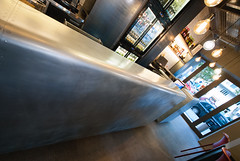 _DSC2111 (fdpdesign) Tags: pizzamaria pizzeria genova viacecchi foce italia italy design nikon d800 d200 furniture shopdesign industrial lampade arredo arredamento legno ferro abete tavoli sedie locali