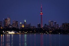 Downtown Toronto seen from Humber Bay #2 (For My Uncle) Tags: toronto cn tower