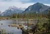 Mount Rundle (2948m) & Sulphur Mountain (2451m) / Rocky Mountains, Canada (Harald Kobmann) Tags: canada rocky mountains banff national park mount rundle sulphur mountain vermillion lakes