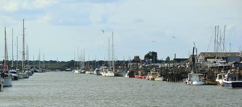 Walberswick Harbour