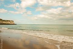Dumpton Gap sea (philbarnes4) Tags: philbarnes nikond80 seaside sea water sand sky cloud dslr broadstairs thanet kent england cliffs chalk