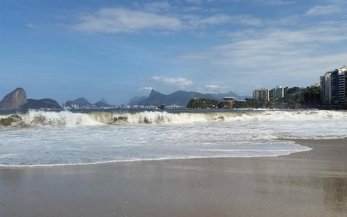 Swell em Niterói - Rio de Janeiro - Brasil (12 de agosto de 2017)