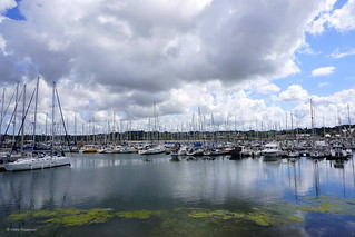 Perros-Guirec harbour, Brittany, France