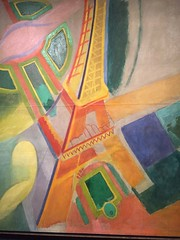 1-13 Jazz Age at Cooper Hewitt (MsSusanB) Tags: delauney eiffel tower painting jazz decorative arts design twenties nyc exhibition museum smithsonian cooperhewitt