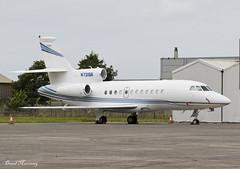 Jet Charter Inc. Falcon 900EX N731SR (birrlad) Tags: shannon snn international airport ireland aircraft aviation airplane airplanes bizjet private passenger jet parked apron ramp westair hangar charter inc falcon 900ex n731sr f900 dassault