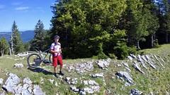 summer mountain bike ride 23082017 yuneec breeze drone... (Photo: Patrick Strahm on Flickr)