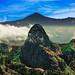 Roque Agando y Pico del Teide