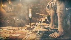 Survivor (EL.Bond) Tags: chaos dramatic depressing shadows light israudr elbond consumption warrior dof destruction ruins blasting evil devil nxnardcotix sandals power horror death fire fog smoke skull skulls speakeasy fetishfair rkposes