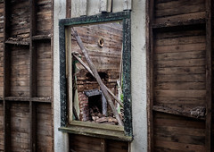 Window of Time. (Mr. Pick) Tags: abandoned house home fireplace decay rural rutherford tn tennessee