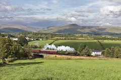 A Pennine journey (EltonRoad) Tags: 60103 flyingscotsman a3 class locomotive loco steam train railway line waverley appleby westmorland cumbria pennines railwaytouringcompany westcoast settle carlisle sc causey brow