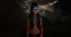 Amazonas-portrait (__ Mariah1Moon __) Tags: second life secondlife sl m1m savoir faire look fashion decor escalated sam tattoos qutworld