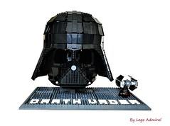 Wearable Lego Darth Vader Helmet (Lego Admiral) Tags: darthvader vader sith starwars imperium lego legoadmiral helmet mask