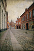 the art of happiness (*silviaON) Tags: street city svendborg funen denmark textured flypaper kerstinfrankart