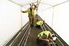 """Moerdijkbrug - """"Vernieuwing ERS-spoorsysteem (Embedded Rail System) 7 augustus 2017"""" Moerdijk.51 by Hans Hendriksen (Travel Photography - Reisfotografie) Tags: prorail randstad zuid dordrecht moerdijk lage zwaluwe moerdijkbrug spoorbrug brug strukton rail sweco sanering sloop opbreken spoor sporen spoorbaan spoorwegen ns 1951 vakwerkbrug geklonken compensatielas compensatie inrichting edilon sedra qumey laspockets brugdeel brugdek rijkswaterstaat gieten ers embedded system tweecomponenten hollands diep waterstralen goot 2500 bar spoorwerk spoorwerker lwb robotwagen robot tent tenten conservering"""