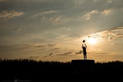 (CarolienCadoni..) Tags: sonyslta99 sal2470z silhouette sundown hat sunset clouds sun sky