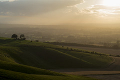 Sunset slopes (mark.abrams81) Tags: wiltshire sunset light views hill cherhill
