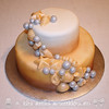 Wedding by the Sea Cake