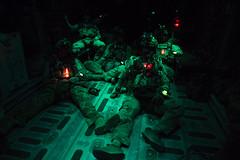 USAF - Pararescue (World Armies) Tags: cjtfhoa airforce 81stexpeditionaryrescuesquadron pararescuemen c130hercules jump grandbara 81sterqs 303rdexpeditionaryrescuesquadron 303rderqs 82nderqs 82ndexpeditionaryrescuesquadron training nighttimehaar haar djibouti dj